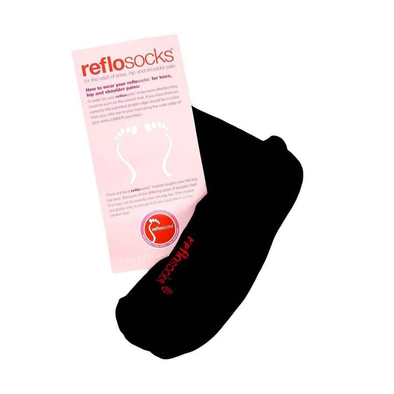 Reflosocks for knee, hip and shoulder pain