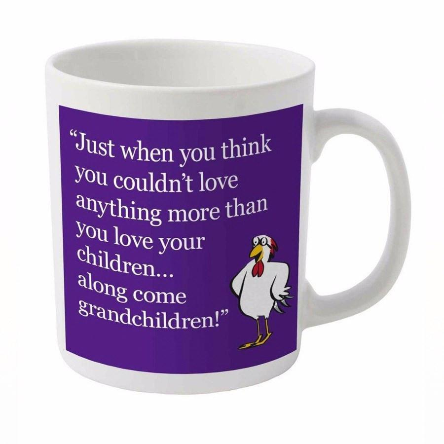 Couldn't love any more grandparent mug | Spring Chicken