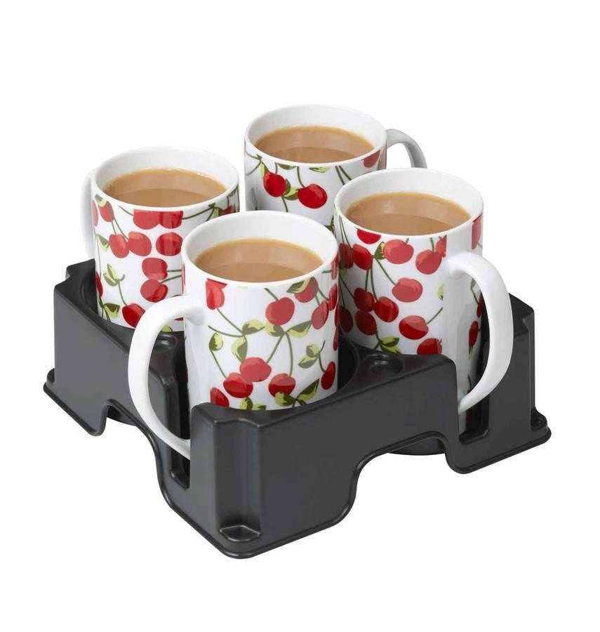Muggi 4 Mug Tray | Spring Chicken