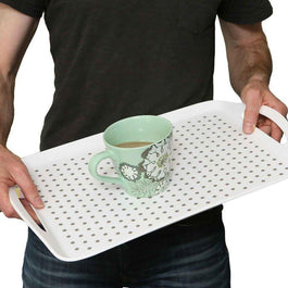 Stay-Put Non Slip Tray | Spring Chicken