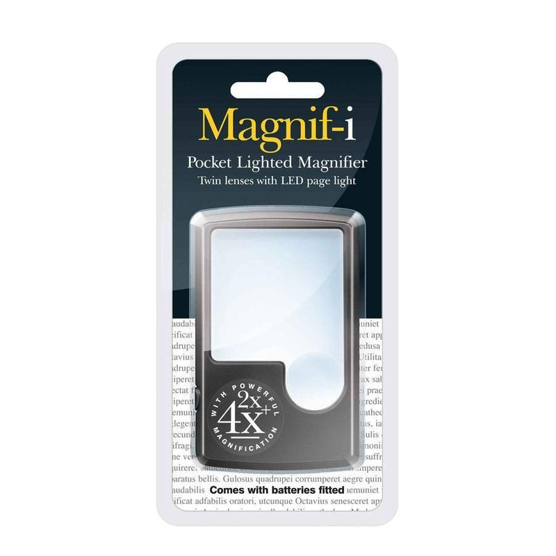 3-in-1 Pocket LED Magnifier