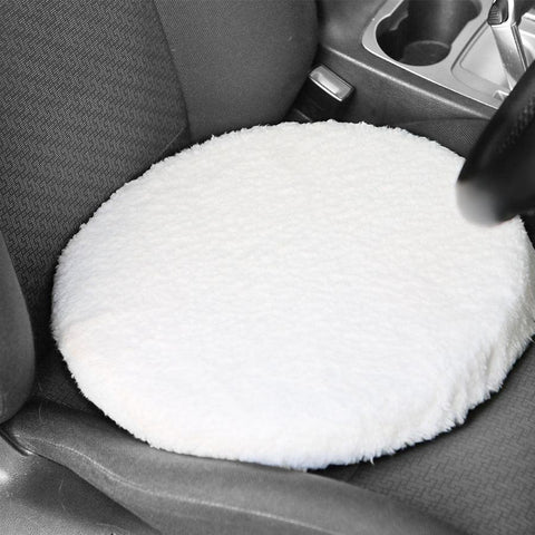 Fleece Rotating car seat