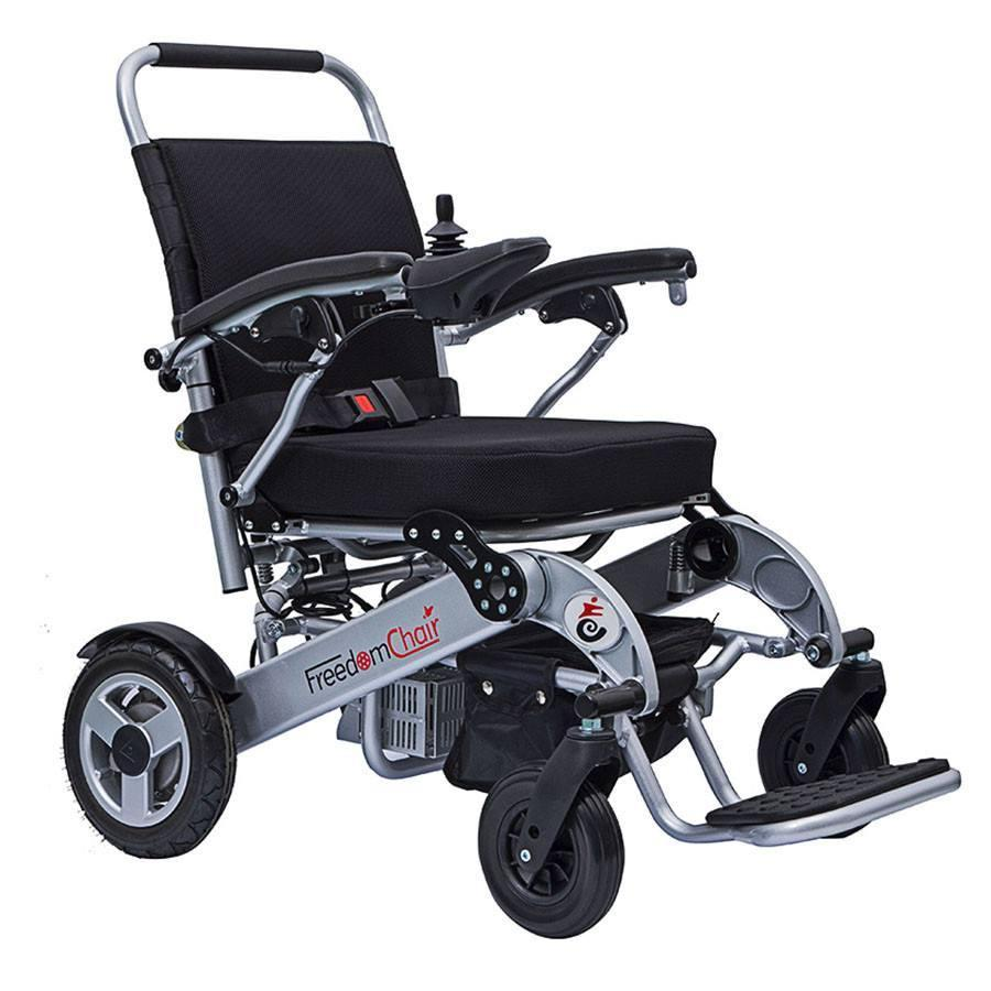 A08 Freedom Electric Folding Wheelchair | Spring Chicken