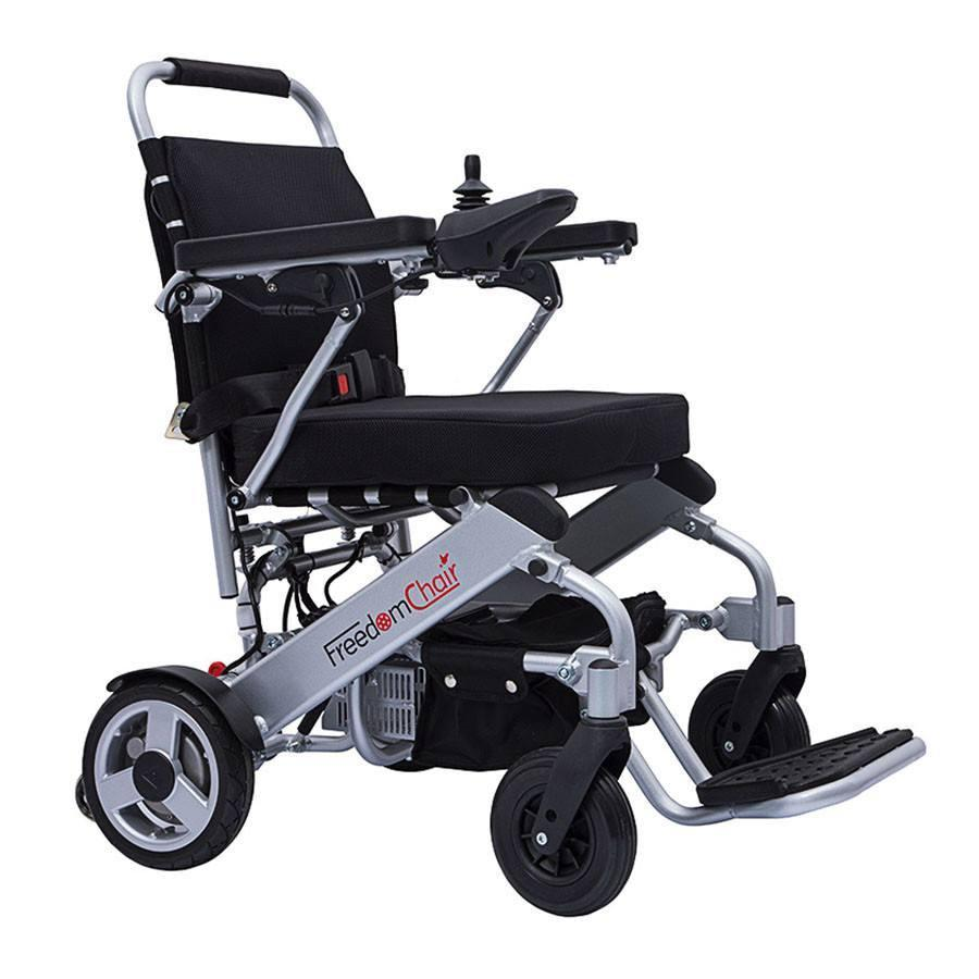 A06 Freedom Folding Electric Wheelchair | Spring Chicken
