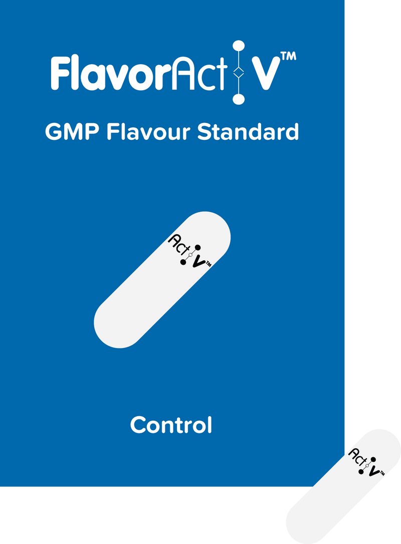 Control (blank beta cyclodextrins) Flavour Standard