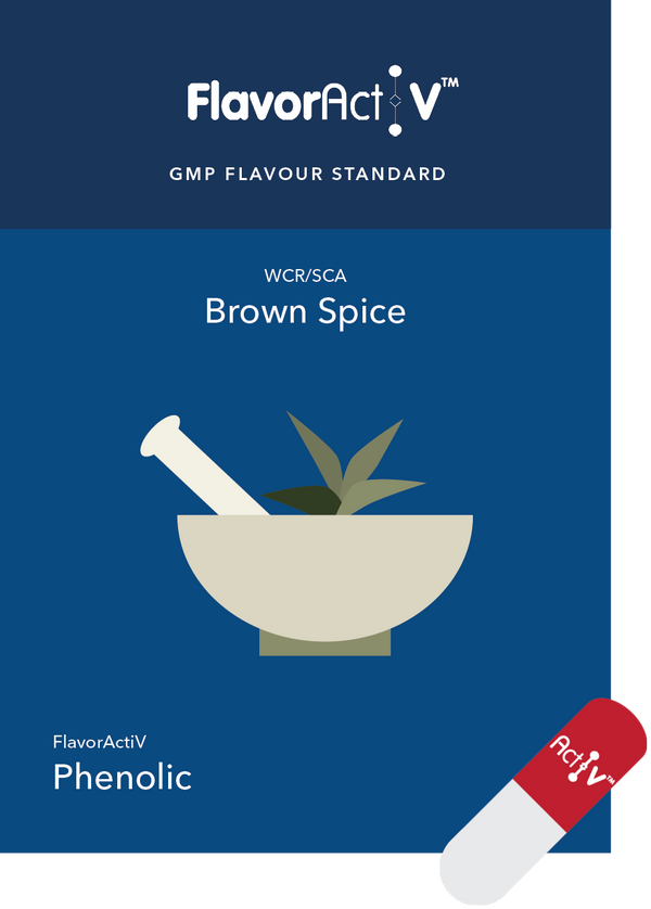 Brown Spice (4-vinyl guaiacol) Coffee Flavour Standard