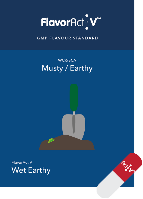 Musty/Earthy Coffee Flavour Standard