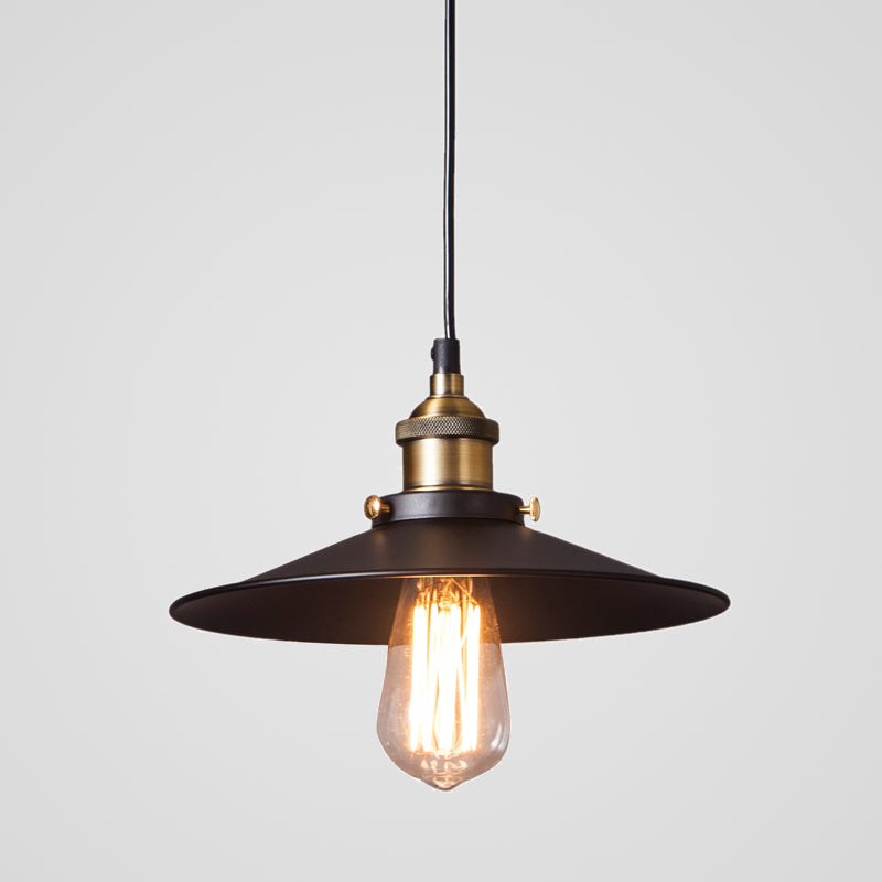 Black Pendant Light. An industrial style lamp, this 26cm diameter Black Pendant Light has a simple design, but yet highly sophisticated and on-trend. It looks stunning hung in the dining room, kitchen or restaurant. - houseofzanele.co.za