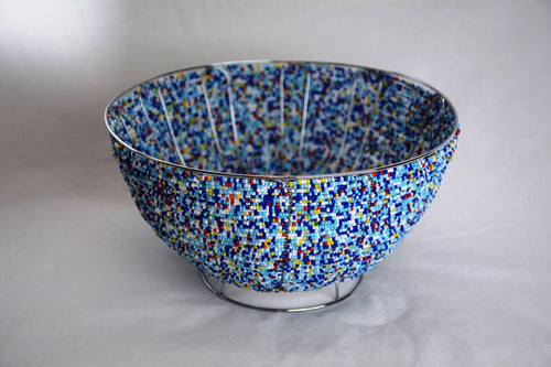Beaded Bowl - houseofzanele.co.za