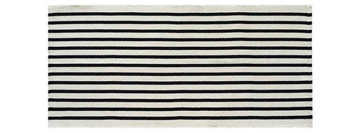 Black and white kilim rug - houseofzanele.co.za
