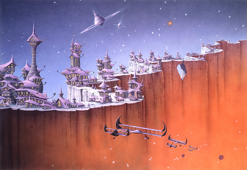 The Granite Curtain by Rodney Matthews