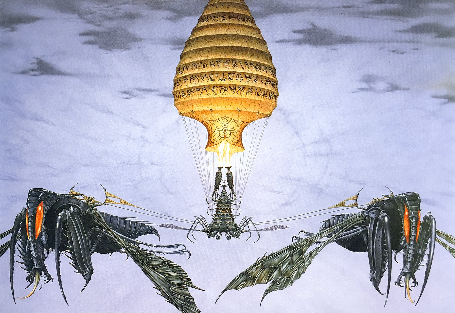 The Firewagon by Rodney Matthews