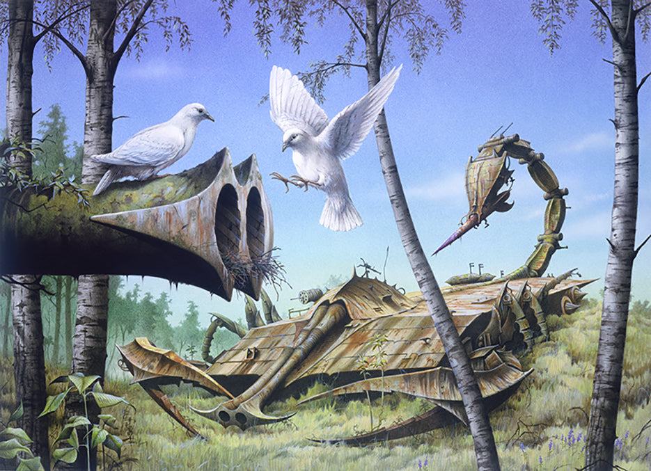 Peace ... at Last! by Rodney Matthews