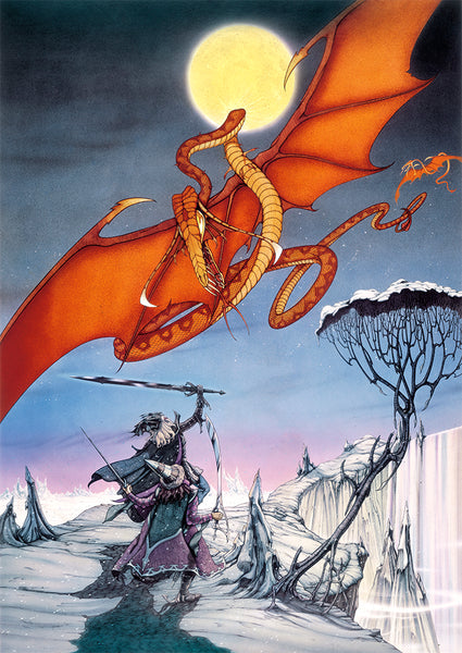 Elric and Moonglum | Rodney Matthews Studios