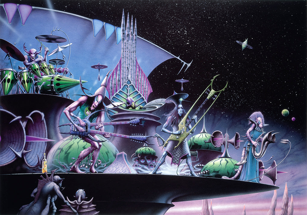Encore at the End of Time by Rodney Matthews