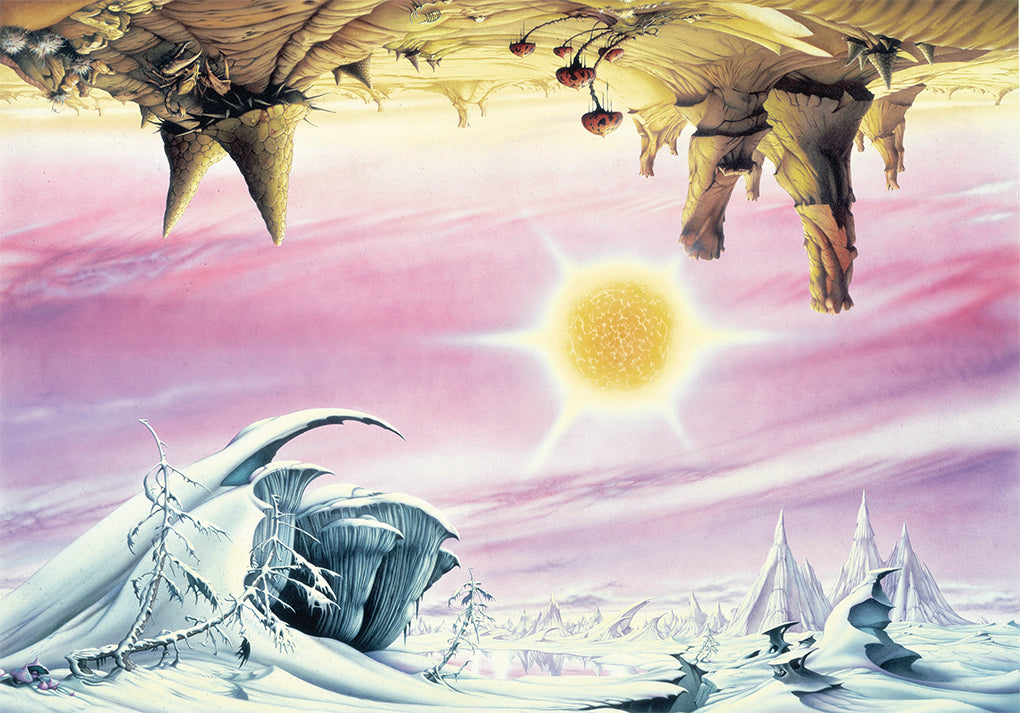 Inverted Landscapes by Rodney Matthews