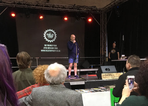 Michael Eavis on stage at Music Expo 2018