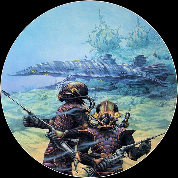 The Nautilus | Steampunk by Rodney Matthews