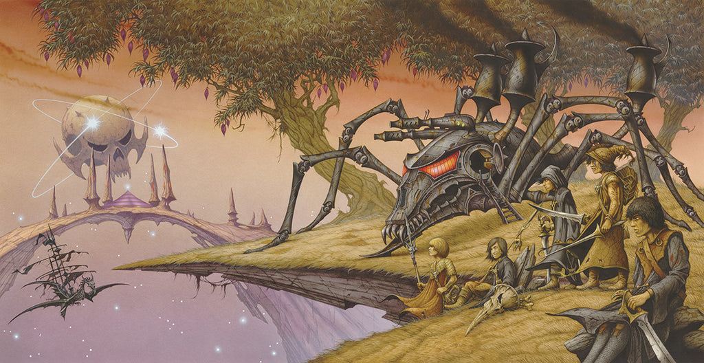 Painted Black | Steampunk by Rodney Matthews