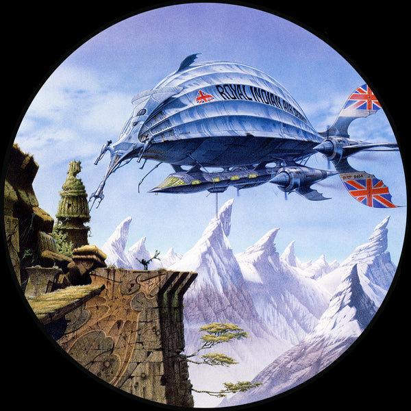 The Pericles | Steampunk by Rodney Matthews