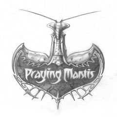 Praying Mantis Alternative Logo | Rodney Matthews Studios