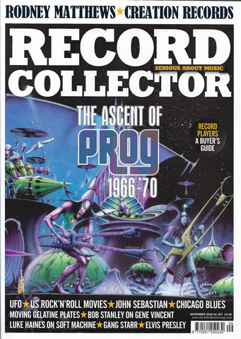 Record Collector Front Cover by Rodney Matthews | Rodney Matthews Studios