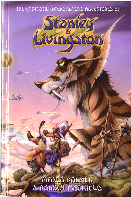 The Fantastic Intergalactic Adventures of Stanley & Livingston © Rodney Matthews