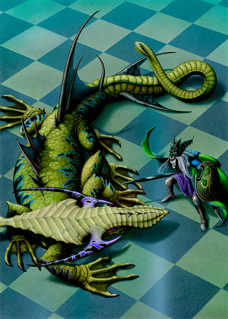 The Chequered Floor by Rodney Matthews
