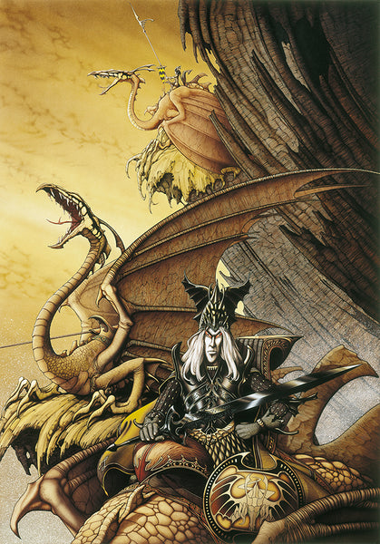 The Dragon Lord | Rodney Matthews Studios