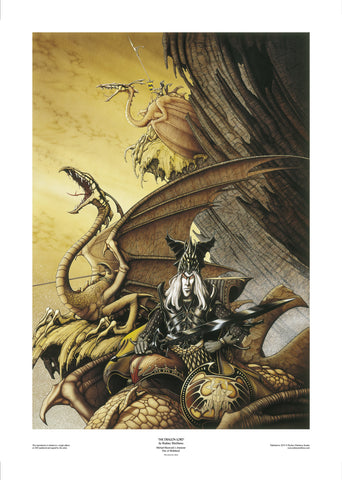 The Dragon Lord by Rodney Matthews