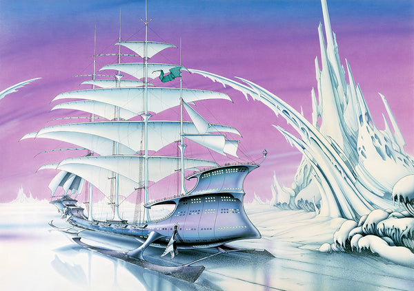 The Ice Spirit | Rodney Matthews Studios