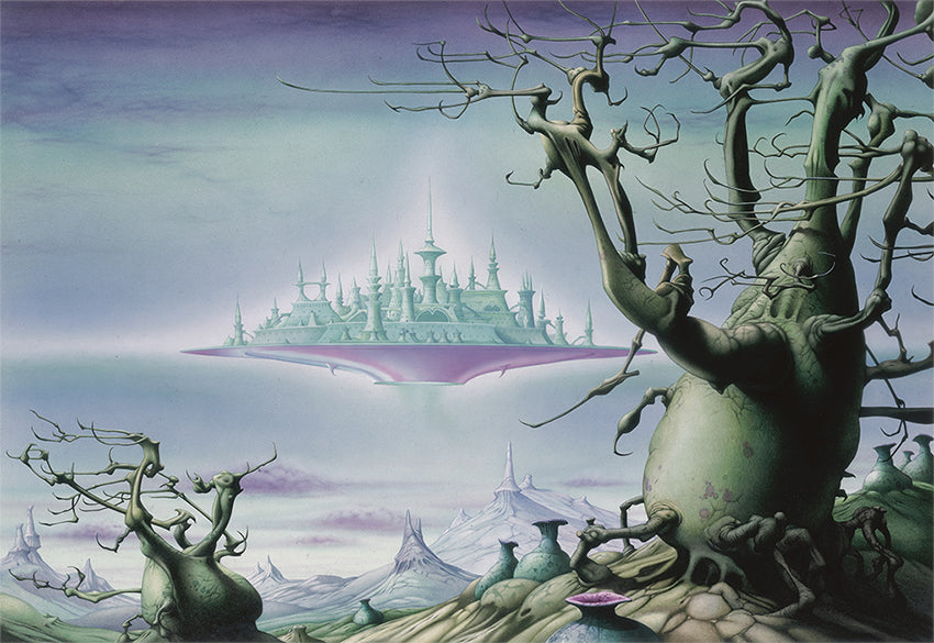 The Sky City by Rodney Matthews