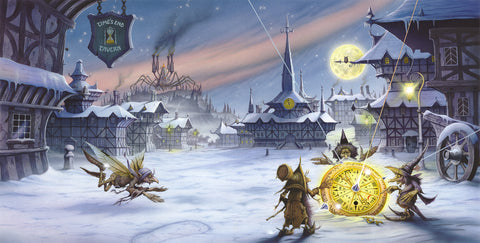 The Timepiece by Rodney Matthews for Avantasia's The Mystery of Time