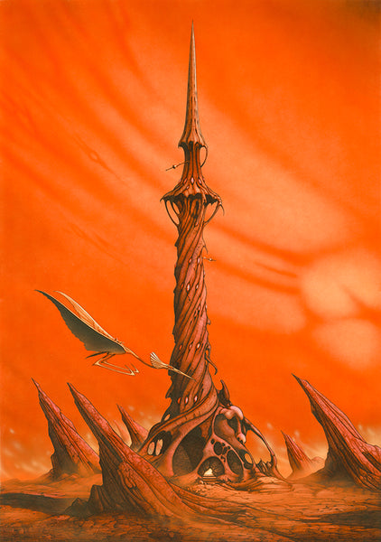 The Twilight Tower | Rodney Matthews Studios