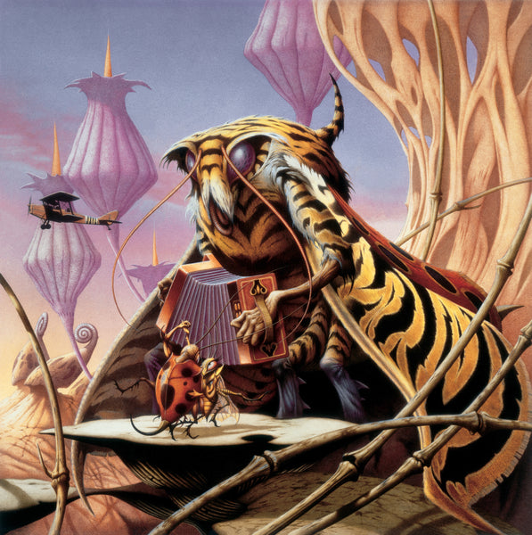 Tiger Moth by Rodney Matthews | Commissioned by Ian A. Anderson for his album Tiger Moth