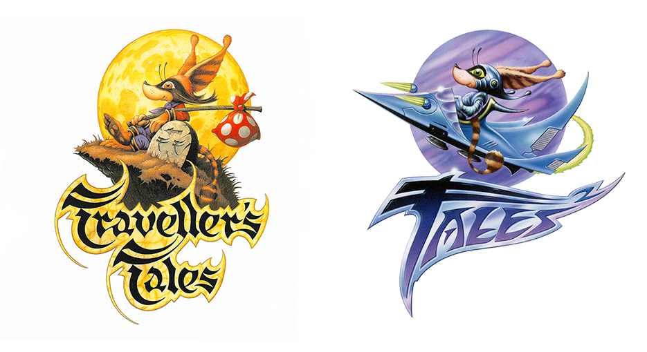 Traveller's Tales and Tales 2 Logos