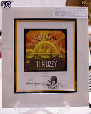 New Day (Thin Lizzy) limited edition print number 1 by Rodney Matthews
