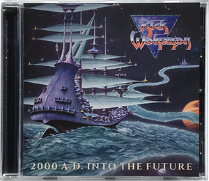 2000 A.D. Into the Future CD by Rick Wakeman