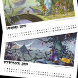 Electric Rock Calendar and Limited Edition Print Bundle