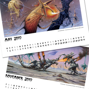 Electric Rock Calendar 2019