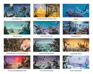 Electric Rock II 2020 images by Rodney Matthews