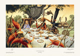At the March Hare's Table | Rodney Matthews Studios