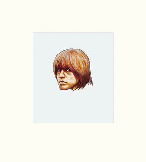 Detail from Another Time, Another Place II: Brian Jones (The Rolling Stones)