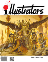 Illustrators Issue 21 Front Cover