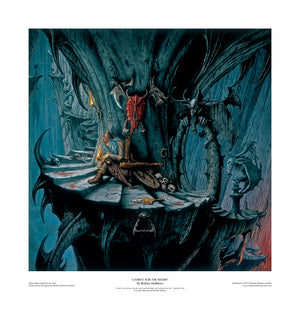 Lament for the Weary (Seventh Angel)open edition print by Rodney Matthews
