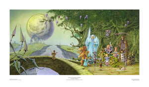 Lost on the Road to Eternity (Magnum) STANDARD open edition print, hand-signed by Rodney Matthews