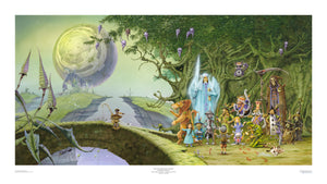 Lost on the Road to Eternity (Magnum) SPECIAL open edition print, hand-signed by Rodney Matthews