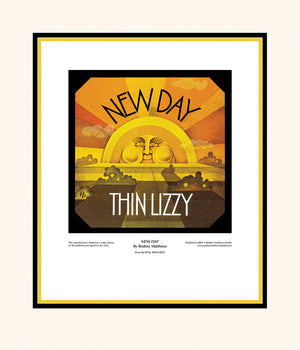 New Day (Thin Lizzy) limited edition print by Rodney Matthews
