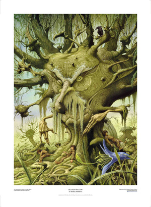 Old Man Willow limited edition giclèe art print