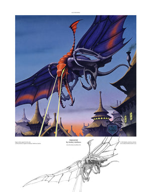 Predator (Bitches Sin) open edition print by Rodney Matthews
